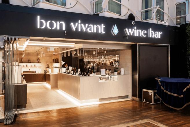 Bon Vivant -ravintola Kuva: Silja Line