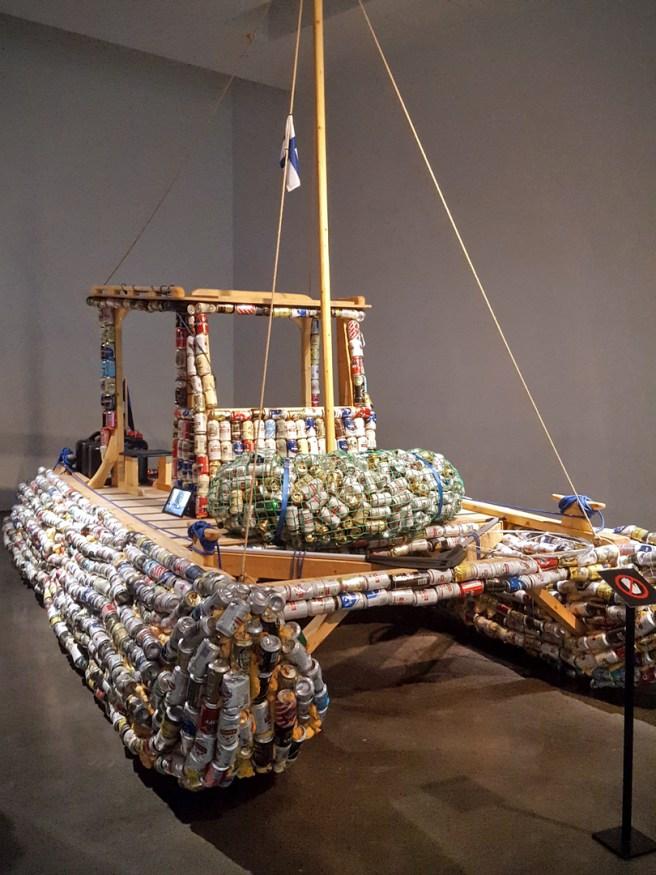 Meno-paluu-näyttely - Tapaus nro 13, Tyhjien laivan odotus (2017) - Karel Koplimets