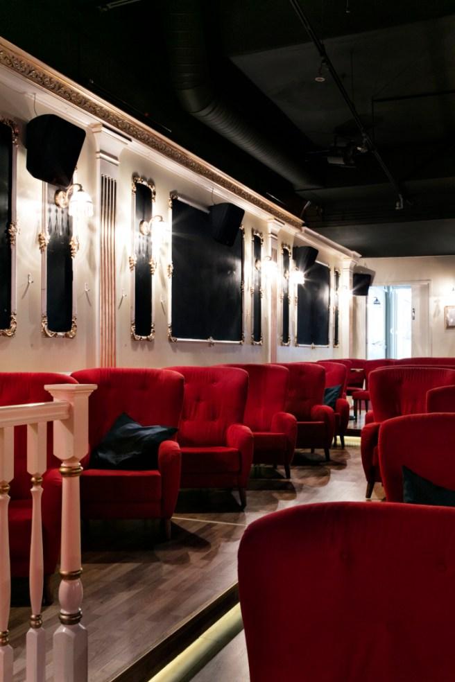 Rivieran elokuvasali. Kuva: Kaisu Jouppi / Riviera