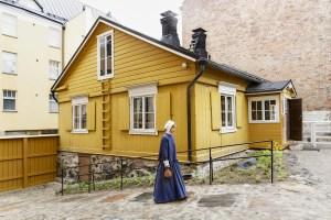 Ruiskumestarin talo sijaitsee Kruununhaassa, kivikaupungin keskellä. Kuva: Maija Astikainen / Helsingin kaupunginmuseo