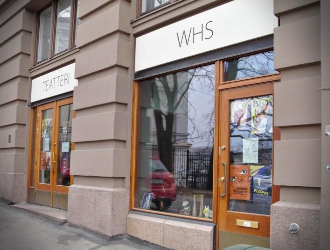 WHS Teatteri Union siltavuorenrannassa. Kuva: Ideal Helsinki.