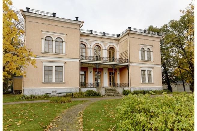 Hakasalmen huvila. Kuva: Maija Astikainen / Helsingin Kaupunginmuseo