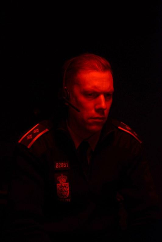 The Guilty, kuvassa Jakob Cedergren. Kuva: Espoo Ciné.