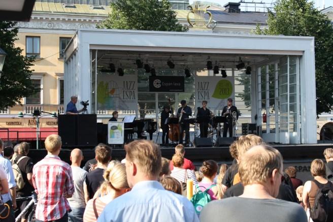 Jazz-musiikkia Jazz-Espa konsertissa. Kuva: Savoy-teatteri / Kulttuuri Helsinki.