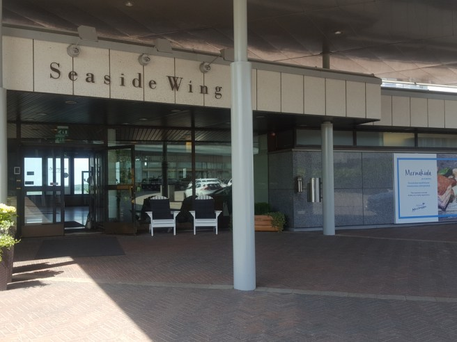 Hotel Kalastajatorppa Entrance.