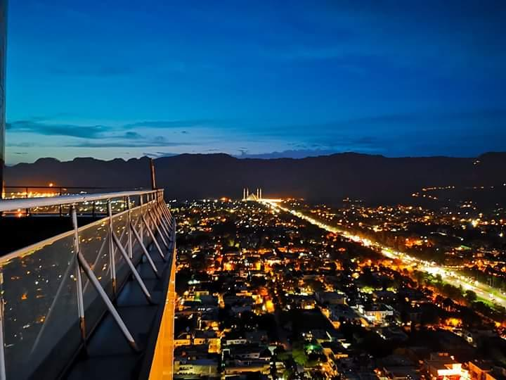 Centaurus Mall Islamabad night view Pakistan