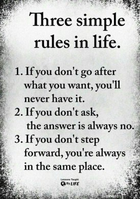 Rules for Successful Life