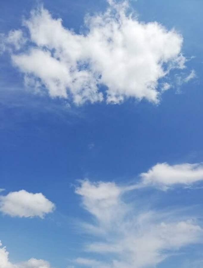 Blue Skies Beautiful Clouds