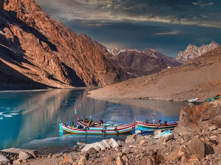 Hill station and Beauty of Attabad Lake