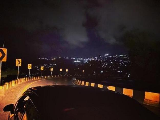 Express way Islamabad Night View