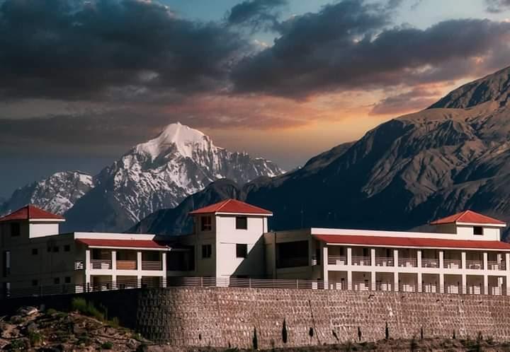 Gilgit city Cantonment area  Harmosh Peaks