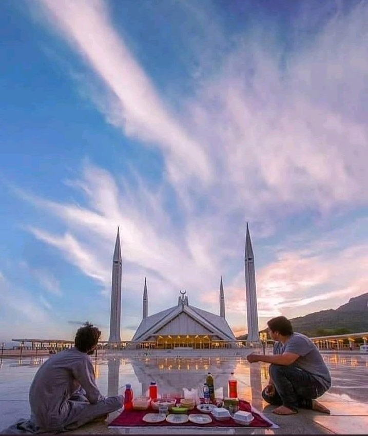 The National mosque of Pakistan