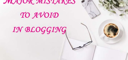 Mistakes to avoid in blogging
