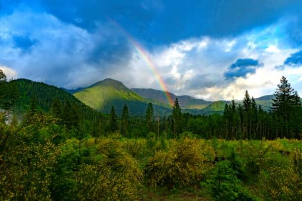 Behind The Rainbow Prism
