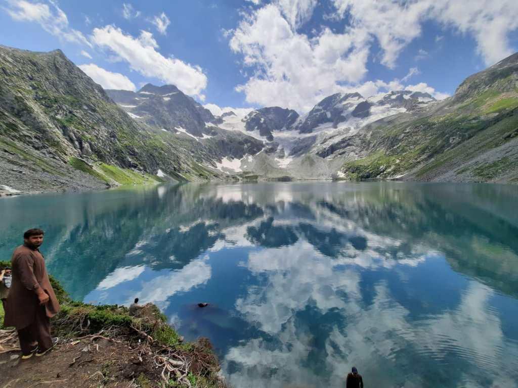 Glacial Lake in Pakistan