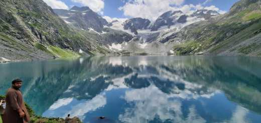 Glacial Lake in Pakistan