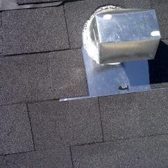 Kitchen Exhaust Fan Installation Pots And Pans How Do I Install A Gooseneck Vent On My Roof