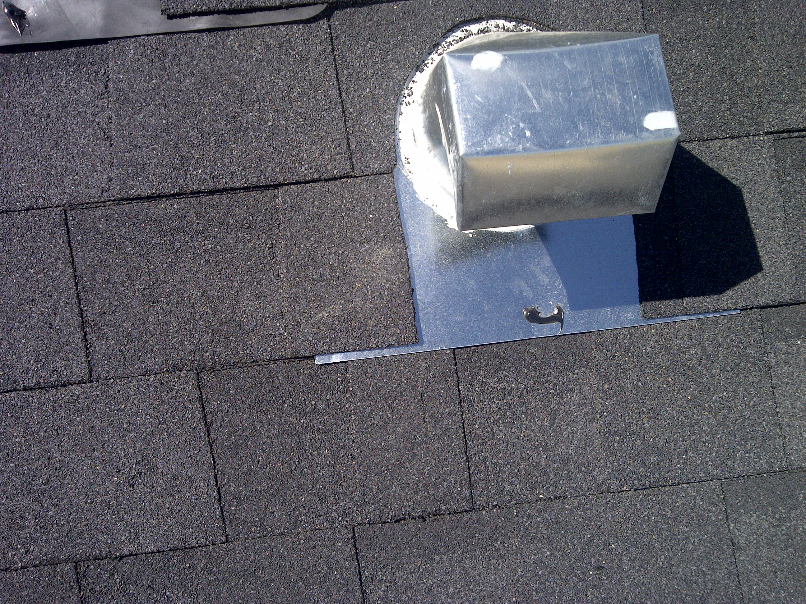 Bathroom Vent Installation How Do I Install A Gooseneck Vent On My Roof