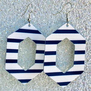 Blue and White Stripe Aria Collection