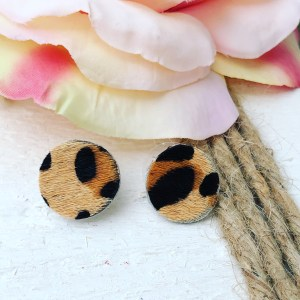 Cheetah Print Buttons Collection