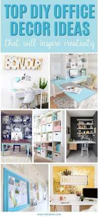 Top DIY Office Decor Ideas That Will Inspire Creativity ...