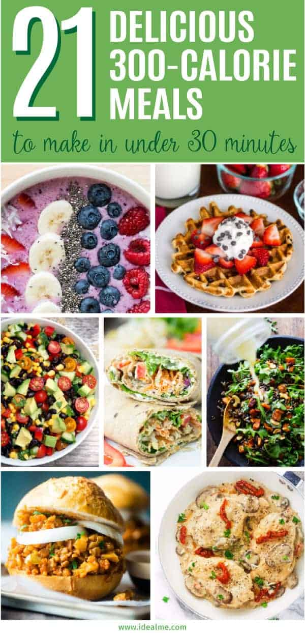 21 300-Calorie Meals You Can Make In Under 30 Minutes ...