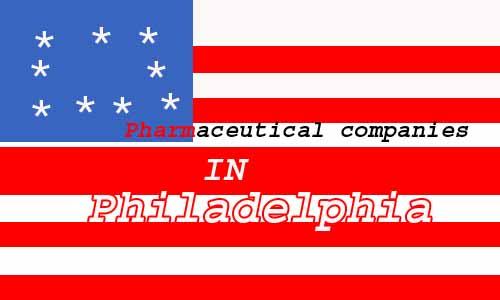 Pharmaceutcal companies in Philadelphia