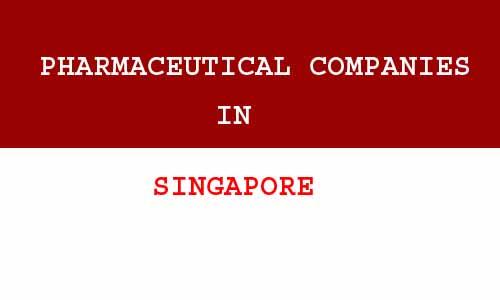 pharmaceutical companies in Singapore