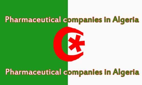 Pharmaceutical companies in Algeria