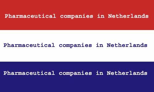 pharmaceutical companies in Netherlands
