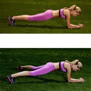 trening siłowy plank