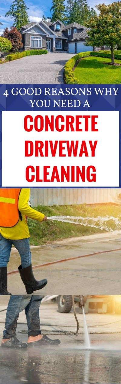 CONCRETE DRIVEWAY CLEANING 1