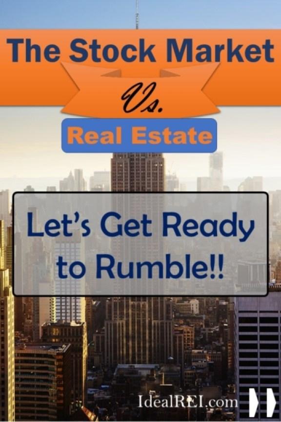 Stocks Market Vs Real Estate