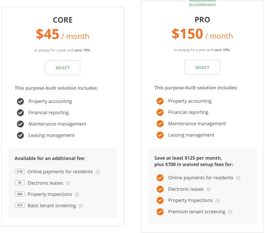 Buildium Cost