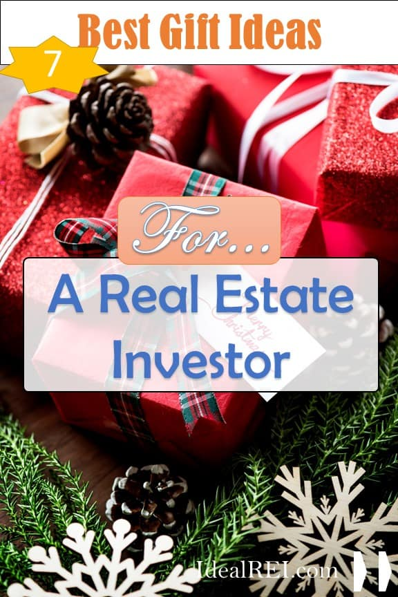 The best gifts to buy a real estate investor