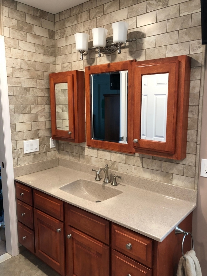 Master Bathroom Remodel in Mantua New Jersey   Ideal Remodeling