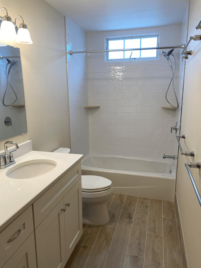 Two Bathroom Remodel in Ocean City New Jersey