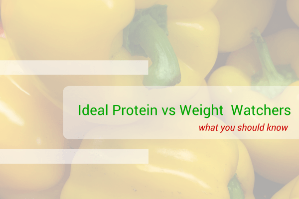 Ideal Protein vs Weight Watchers  Ideal Solution Weight Loss