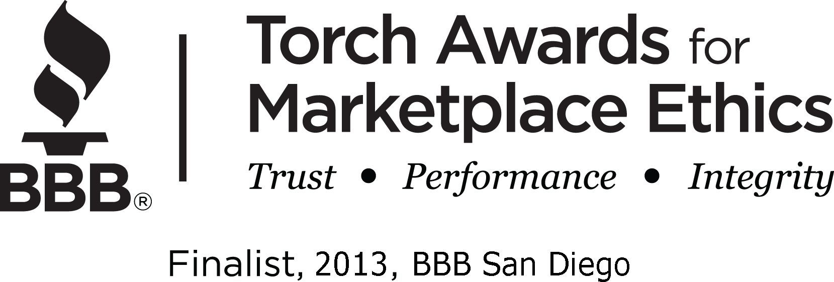 Ideal Named Finalist for 2013 San Diego BBB Torch Award