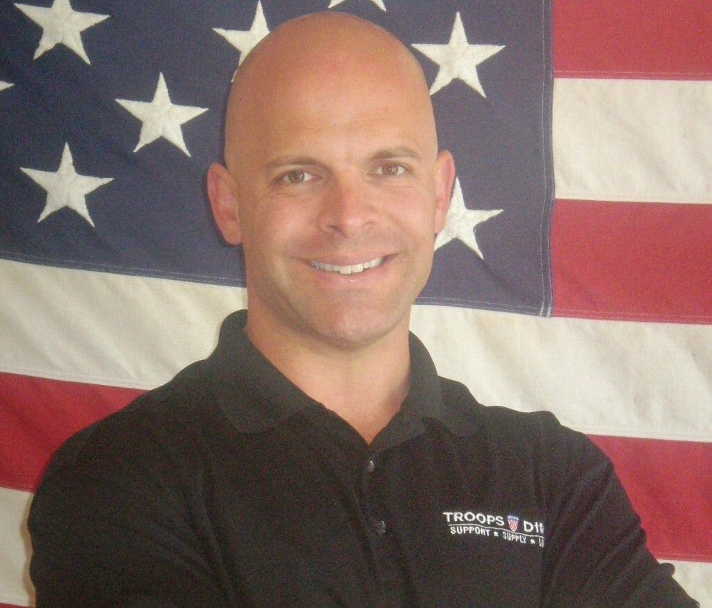Aaron Negherbon - Founder of Troops Direct