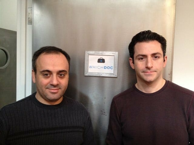 Rob Morelli and Saro Cutri - Co-Founders of WhichDoc