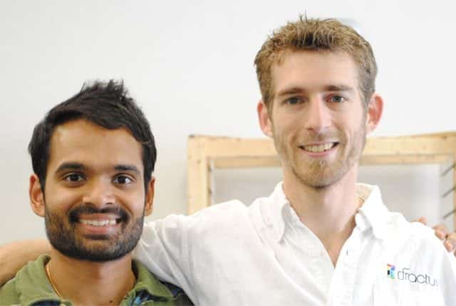 Abhi and Alex - Co-founders of Fracture
