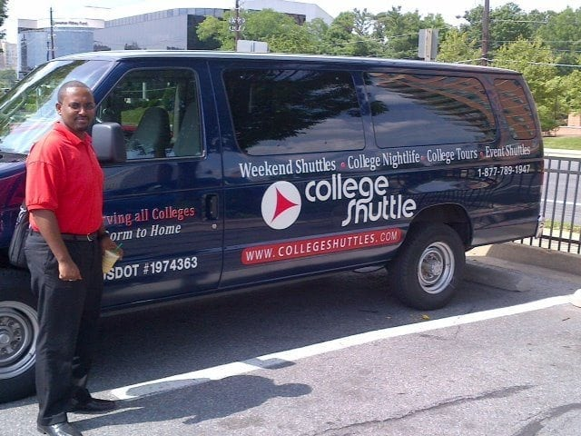 Eskat Asfaw - Founder of College Shuttles