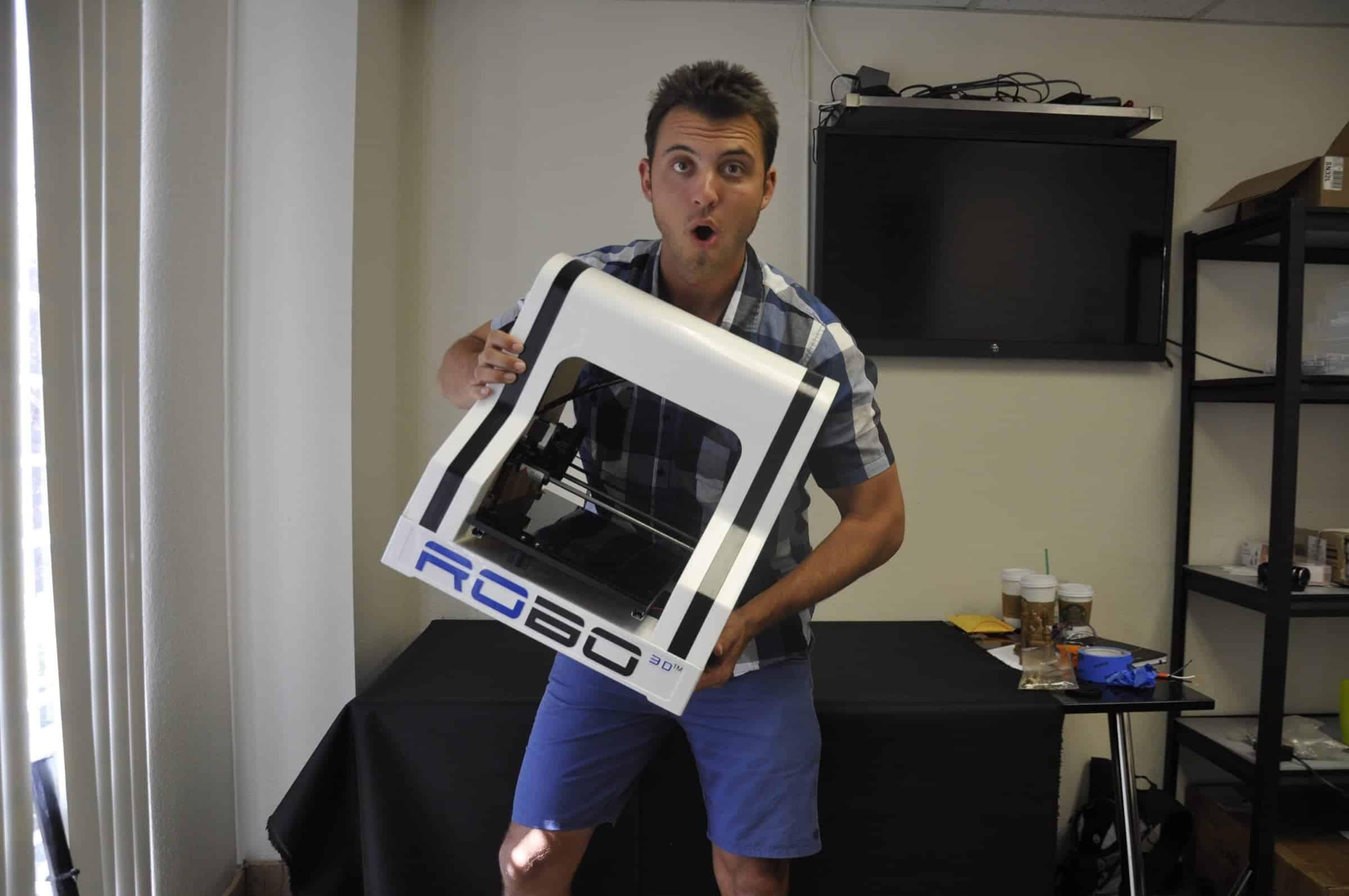 Braydon Moreno - CEO of Robo 3D Printer