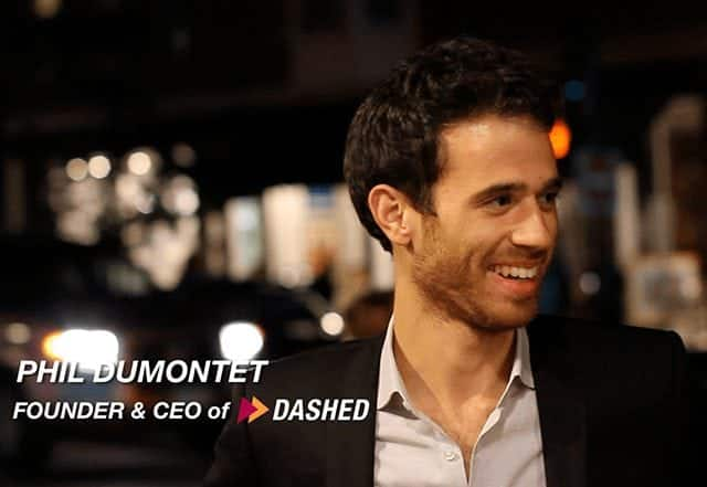 Philip Dumontet - Founder and CEO of DASHED