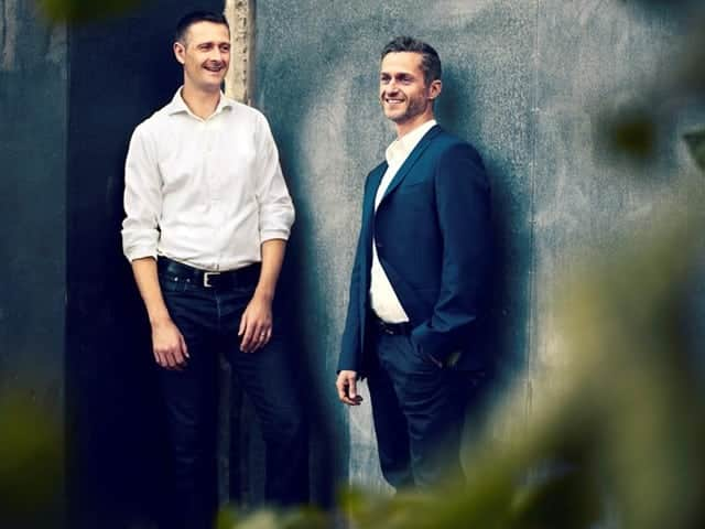 Sune Diernaes and Jesper Jarmann - Founders of HELMMATE