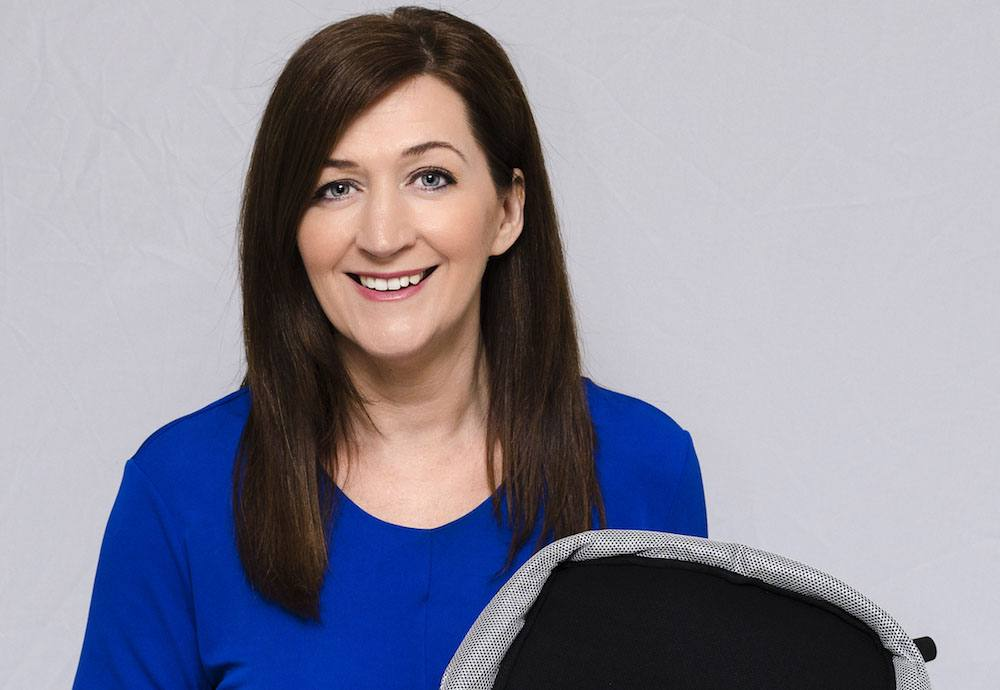 Grainne Kelly - Founder and Inventor of BubbleBum