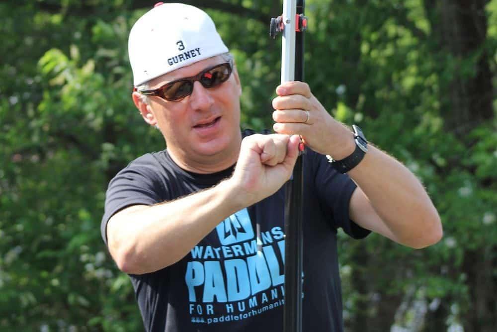 Steve Gurney - Founder of Paddle Polo