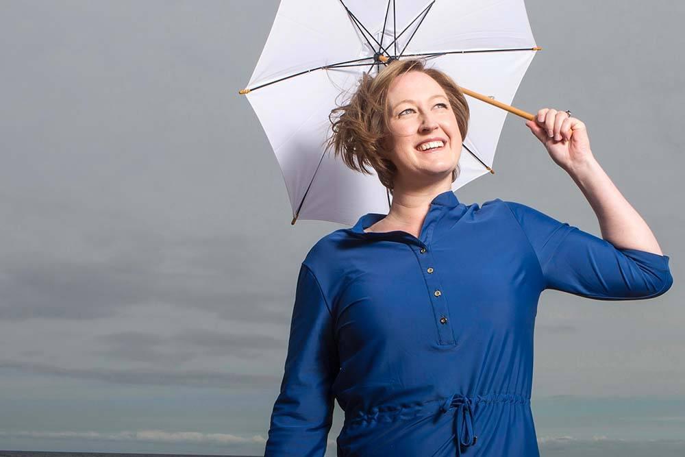 Annaliese Allen - Founder of Honeybell Waterwear