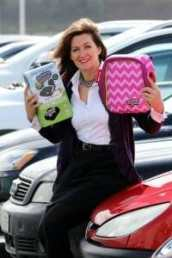 Grainne Kelly, CEO of Bubblebum,Inflatable car seat business, at her offices in londonderry,Northern Ireland,Tuesday 3rd May 2016.Photo Paul Faith